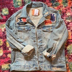 Kids Levi denim jacket